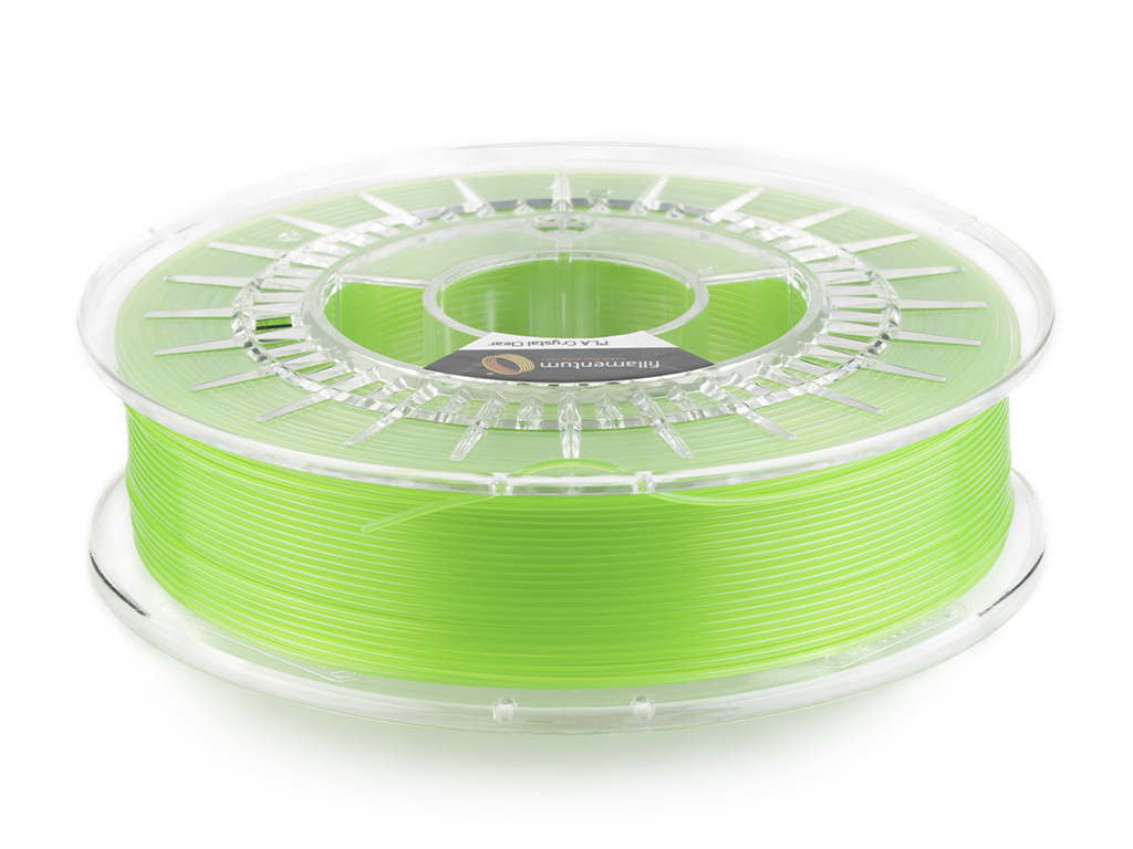 Fillamentum PLA Crystal Clear Kiwi Green